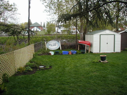 Ugly Garden-before