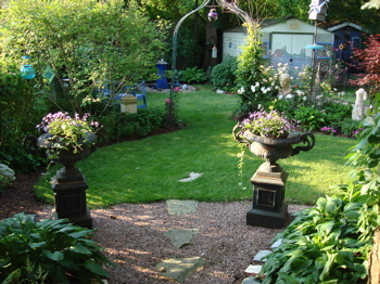 Garden Designs - Pictures of back gardens